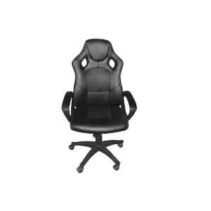 Fauteuil de bureau gaming noir ergonomique et confortable - design siège baquet - collection GAMER