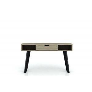 Console 1 tiroir -  bois acacia - piétement métal noir - rangement design - HALLWAY -collection CITIZEN
