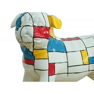 sculpture dog motif art abstrait - DOG CARLIN ART