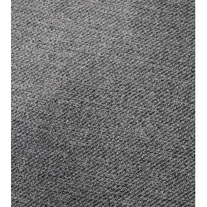 Fauteuil tissu gris en pin recyclé - Collection CHALET