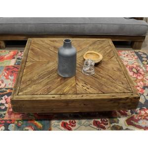 Table basse carré - Collection CHALET