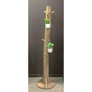 Portemanteau en pin recyclé - Collection CHALET
