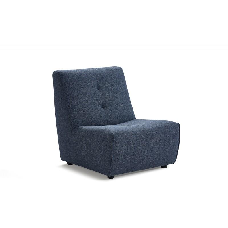 chauffeuse module pour canapé composable tissu bleu - design contemporain - ORIGAMI