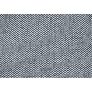 Lot de 2 Coussins 40 x 40 cm tissu gris foncé - DORA