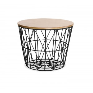 Table Basse Filaire Ronde Soho