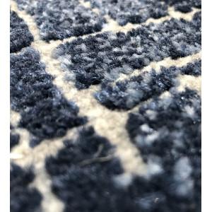 Tapis bleu et blanc 120x170 - ATLANTIQUE 6827