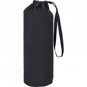 Drap housse en coton gris anthracite 140 x 200 cm et b30 cm - HOUS 8108