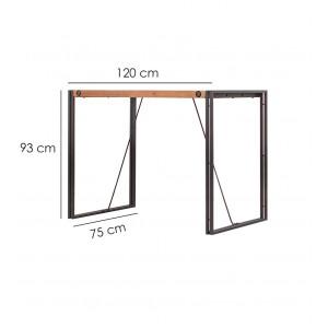 Table haute de bar 93cm – WORKSHOP