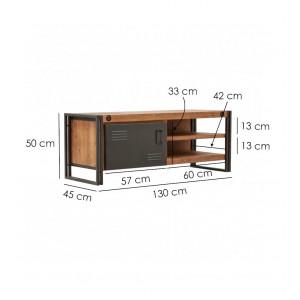 Meuble TV design loft - WORKSHOP