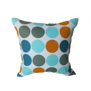 Coussin CIRCLE motif seventies 45*45