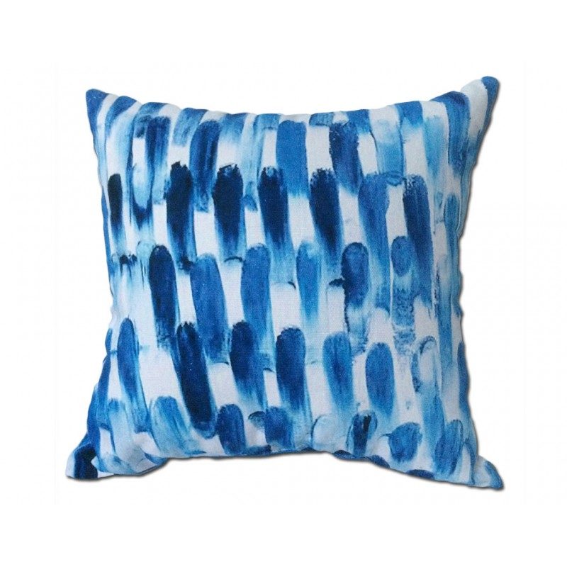 Coussin ABSTRACT bleu 45*45