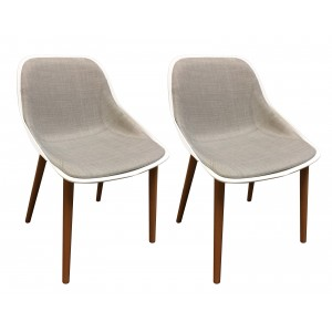 Lot 2 chaises by Emilio Polo - BARBARA