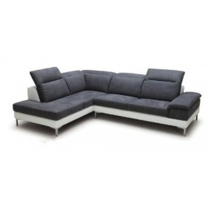 Canapé d'angle Gris GAUCHE...