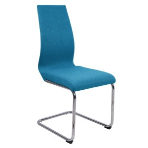 Lot 2 chaises originales - Bleu azur - PEPS