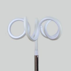 Lampe design à poser originale LED boucles - Eclairage dynamique blanc froid - Classe énergétique A++ -ARIES