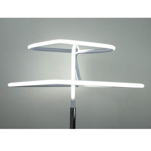 Lampadaire design et original LED losangé Eclairage blanc froid - DIAMOND