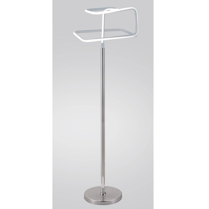 lampadaire design et original led angulaire eclairage dynamique blanc froid classe. Black Bedroom Furniture Sets. Home Design Ideas