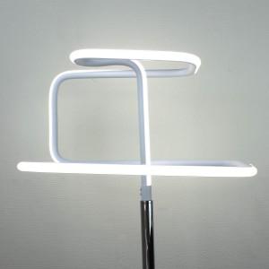 Lampe design à poser originale LED angulaire - Eclairage dynamique blanc froid - Classe énergétique A++ - SQUARE