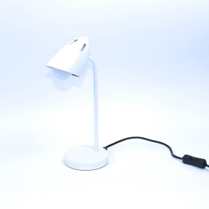 Lampe de bureau en métal - blanc - Modèle LUXO