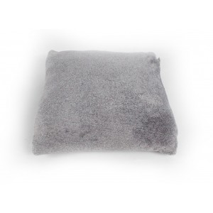 Coussin de haute qualité - gris clair - toucher douceur intense - ALASKA