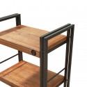 étagère workshop design industriel 3 tablettes