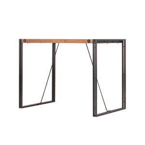 Table haute Workshop design indus Atelier Loft 93 cm