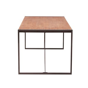 Table fixe bois & acacia 200 x 90 – design indus atelier - WORKSHO