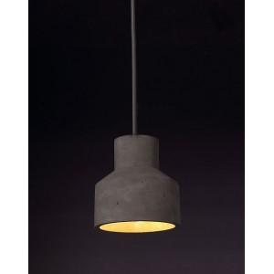 Suspension BETON - design industriel contemporain - PLOCK