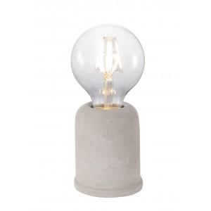 Lampe à poser BETON - H 10,5 cm - BOMBIX
