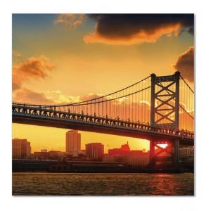 tableau plexiglas photo new york triptyque brooklyn. Black Bedroom Furniture Sets. Home Design Ideas