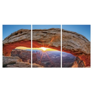 Tableau plexiglas verre acrylique -Décoration murale photo nature - triptyque - GRAND CANYON