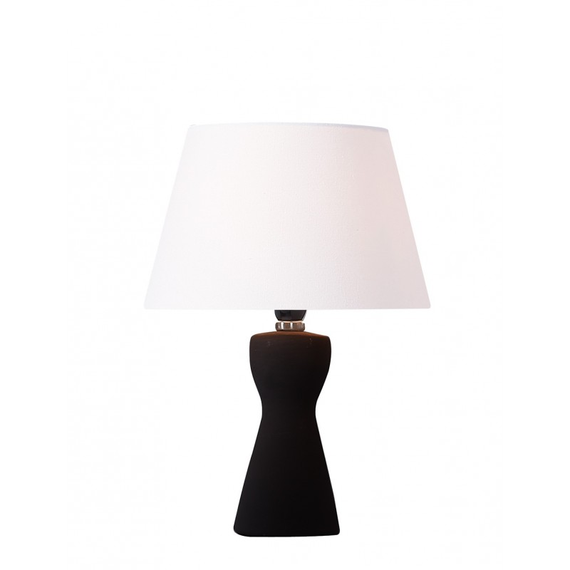 Lampe A Poser Noire Ovide 1